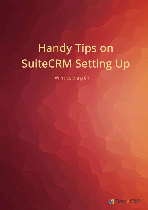 Tips on SuiteCRM Setting Up