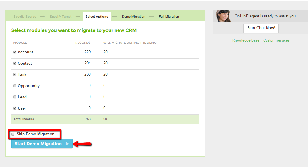Trujay Salesforce migration instructuion: mirgate to a dream CRM