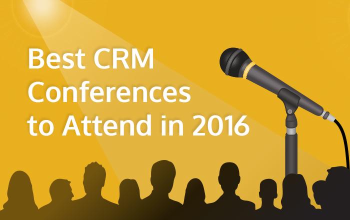Best CRM Conferences 2016