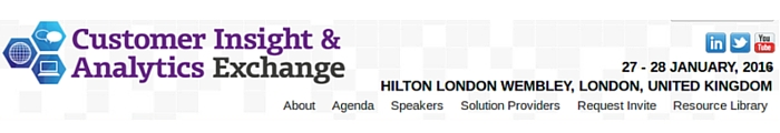 Customer Insight and Analytics Exchange Conference