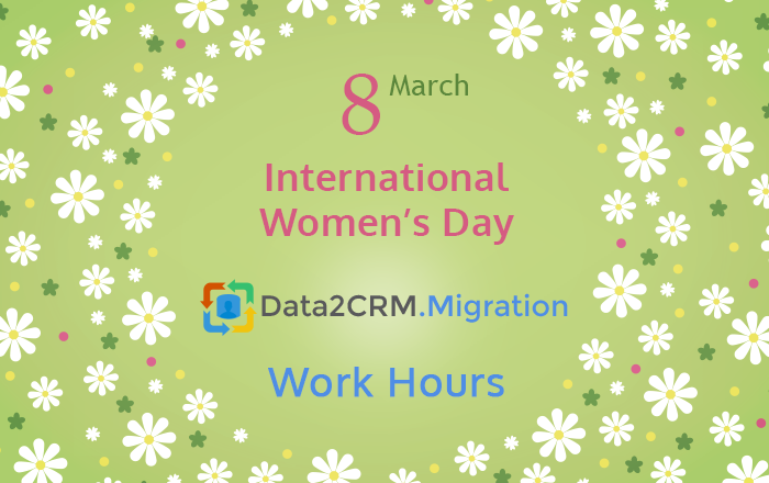 data2crm work hours