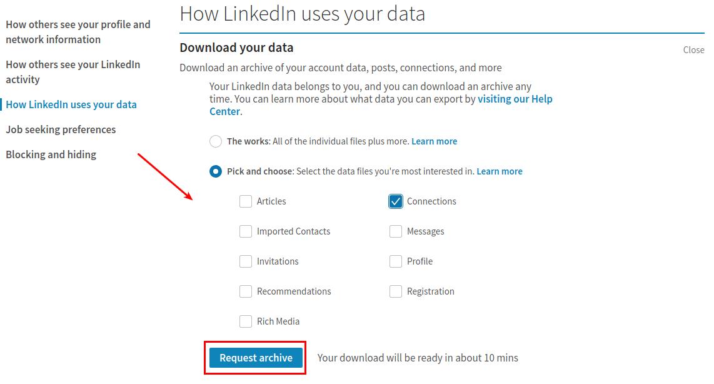 LinkedIn migration